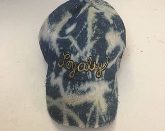 Handpainted Loyalty Hat