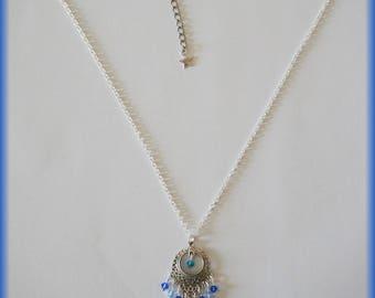 Luxury swarovski crystals necklace