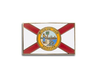 Florida Flag Pin