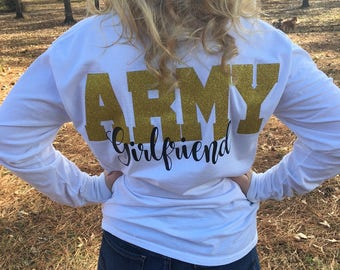 Army Girlfriend, Long Sleeve, Military, Girlfriend, Wife, Army