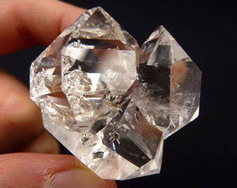 Large Herkimer Diamond | Herkimer Diamond Cluster | Giant Herkimer Crystal | Big Herkimer Diamond | Herkimer Quartz Crystal | 33 grams