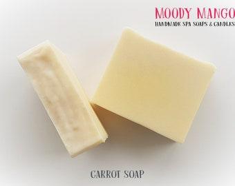 No9. 'CARROT' Handmade Soap