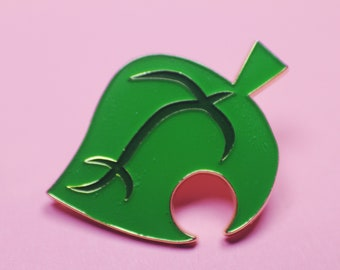"Animal Crossing ""New Leaf"" Enamel Pin"