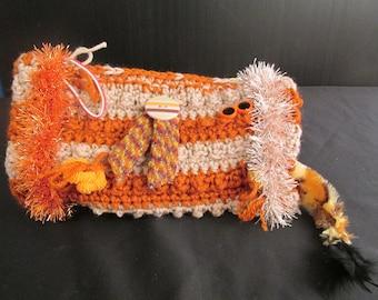 Twiddle Muff Alzheimer's - Dementia - Autism Hand Crochet Sensory Muff