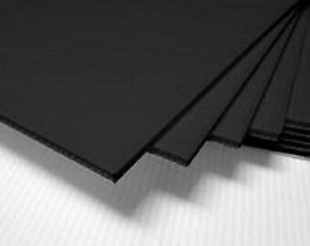 "4 Pieces Corrugated Black 24"" x 36"" vertical"
