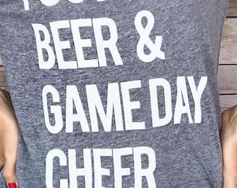 Football, Beer & Gameday Cheer