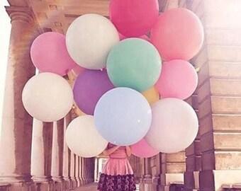 Giant baloon huge colorful