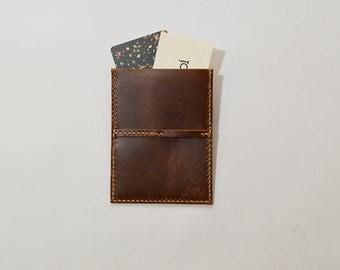JIMOI‧Dark Brown‧Card Holder#3