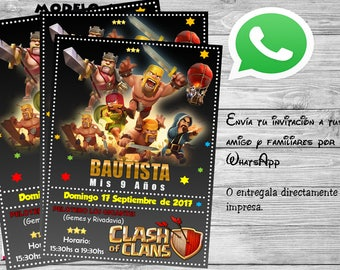 Invitation Clasf of custom clans
