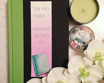 One More Chapter Bookmark - Book Lover - Quote