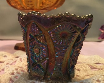 Iridescent Vintage Carnival Glass