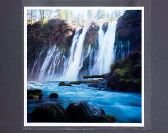 "Fine Art Photography ""Burney Falls"" Archival Print"