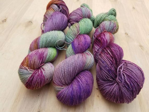 Aunumn's Coming on Flock - Superwash Merino/YAK/ Nylon - 437 yards