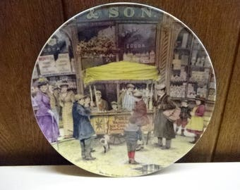 Davenport Pottery Collectors Plate/The Ice-Cream Seller by Brian Eden/Limited Edition/Collectable/Vintage/1991