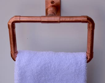 Copper Hand Towel Ring