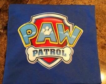 Paw Patrol Inspired T shirt