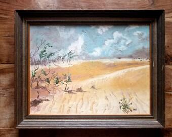 Mid Century Oil Painting by RAO, Surrealist Painting, Rao Painting, Mid Century Art , Original Art, Rao Artist, Original Painting
