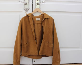 light brown jacket vintage 70s
