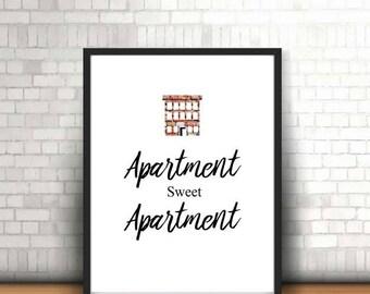 Apartment wall art | Etsy