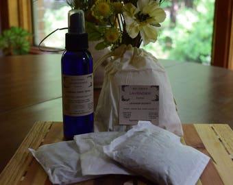 Lavender Fabric Spray & Drawer Sachets