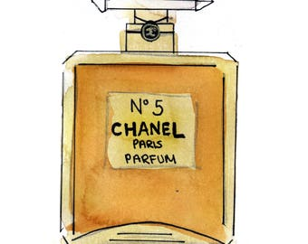 chanel number 5. chanel number 5 - coco wall art five gold poster