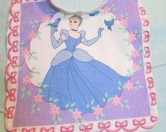 Disney Cinderella Baby Reversible Bib