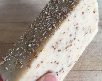 Natural hand made goats milk soap with oatmeal