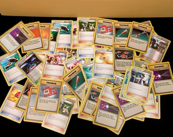 Assorted Trainer Only Pokemon Cards Lot