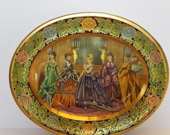 Vintage Daher Decorated Ware Platter