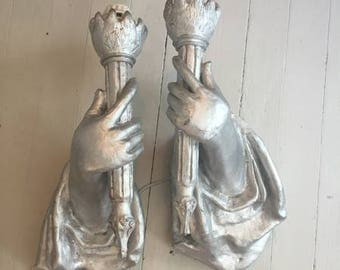 statue of liberty wall sconces