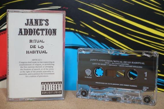 Ritual De Lo Habitual by Janes Addiction Vintage Cassette Tape