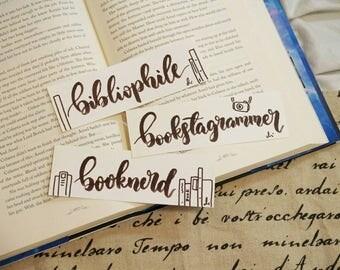 Handmade Bibliophile/Bookstagrammer Bookmark