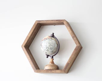 Hexagon Shelf | Honeycomb Shelf | Wooden Wall Shelf | Shelves