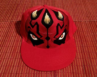 Custom Cap. Darth Maul. Inspired by Star Wars