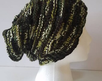 Camo Slouchy Hat
