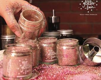 Turkish Delight blend of biodegradable glitter