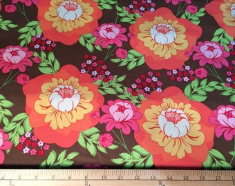 Meadowsweet Splashy Rose by Sandi Henderson for Michael Miller Fabric by the Yard