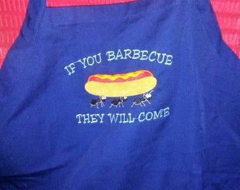 Ant 3 pocket BBQ apron