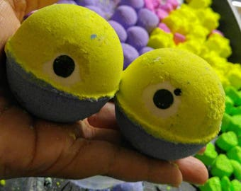 5 Mini Minions Bath Bombs Bag
