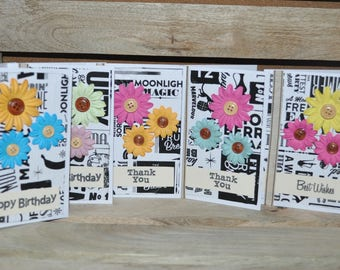 T2 Recycled Paper Tissue Paper Card Kit