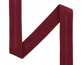 1 m jersey diagonal Color Burgundy Uni