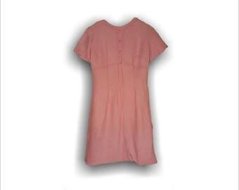 Vintage Pink Dress 1950s Party Dress | 1950s Pink Dress Maggi Stover Rockabilly Dress | 1950s Dress Vintage Dress | Swing Dress