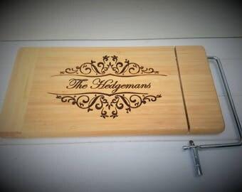 Custom Cheese Cutting Board