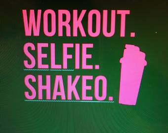workout, selfie, and shakeo womens flowy tank top