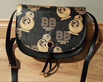 Star wars - BB8 metallic gold handbag - custom made