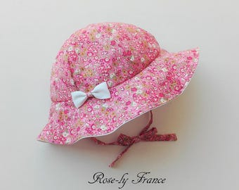 baby hat (baby summer hat) liberty Lily cutter