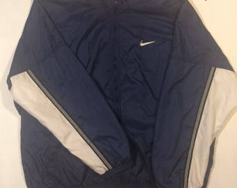 VTG Nike big Logo swoosh light jacket XXL