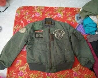 Vintage Ted Company Flight Jacket Tedman Masuda Factory Hozo Limited Edition pit 25 Length 28 (F2)