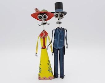 Dia De Los Muertos Tin Sculpture