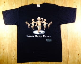 ON SALE! Vintage 1998 Dance Baby Dance Ooga Chaka Shirt Rare